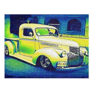 Carte Postale Automobile de cru de Lowrider