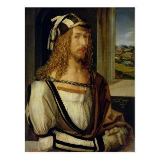 Carte Postale Autoportrait avec des gants, 1498