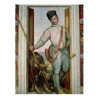 Carte Postale Autoportrait dans le costume de chasse, 1562