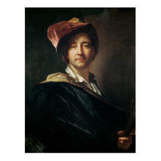 Carte Postale Autoportrait dans un turban, 1700