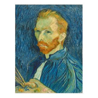 Carte Postale Autoportrait de Vincent van Gogh  , 1889