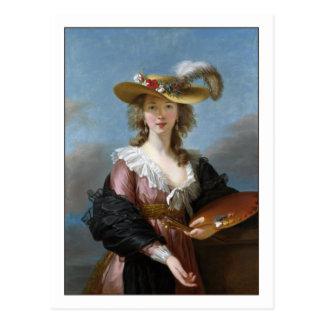 Carte Postale Autoportrait d'Elisabeth Vigee Lebrun