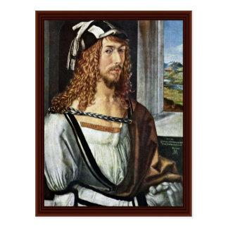 Carte Postale Autoportrait, par Albrecht Dürer