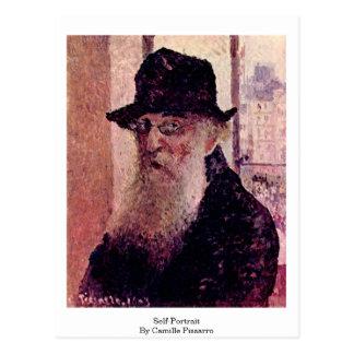 Carte Postale Autoportrait par Camille Pissarro