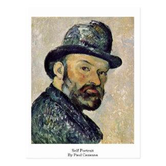 Carte Postale Autoportrait par Paul Cezanne