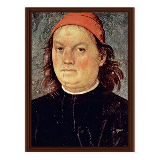 Carte Postale Autoportrait par Perugino Pietro (la meilleure
