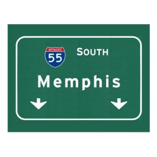 Carte Postale Autoroute d'autoroute nationale de Memphis