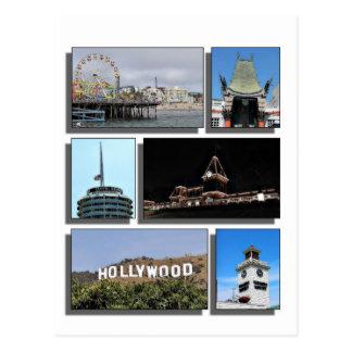 Carte Postale Autour de Los Angeles la Californie