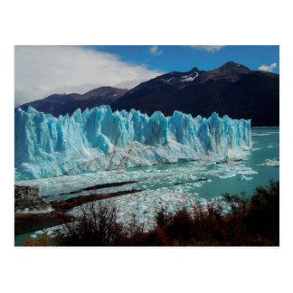 Carte Postale Avant de glacier de Perito Moreno dans les Andes