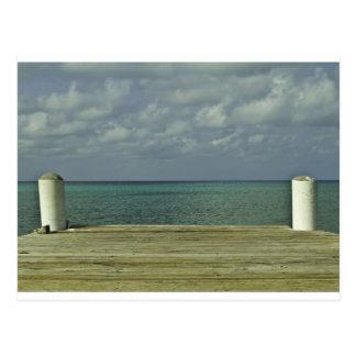 Carte Postale Avant de l'eau de Grand Cayman