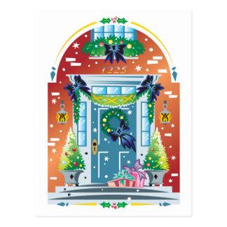 Carte Postale Avant décoré du bâtiment