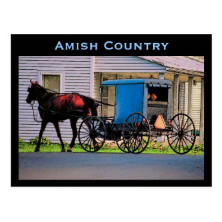 Carte postale avec des erreurs amish