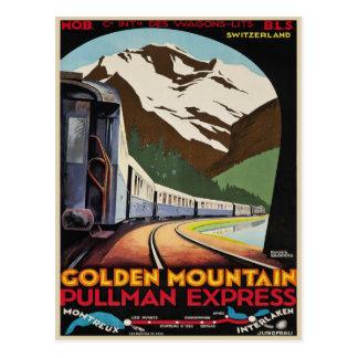 Carte postale avec la copie vintage fraîche de