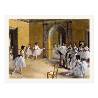 Carte postale avec la peinture célèbre de ballet