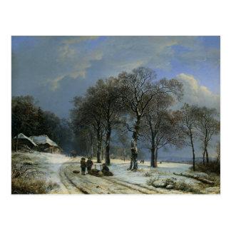 Carte postale avec la peinture de Barend Cornelis