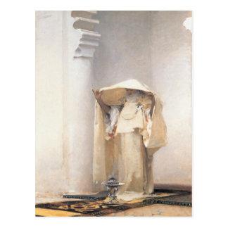 Carte postale avec la peinture de John Singer