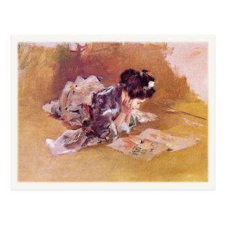 Carte postale avec la peinture de Robert Frederick