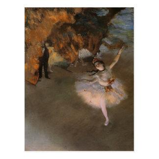 Carte postale avec la peinture d'Edgar Degas