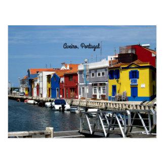 Carte Postale Aveiro, Portugal