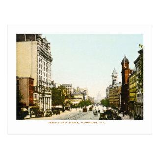 Carte Postale Avenue de la Pennsylvanie, DC de Washington