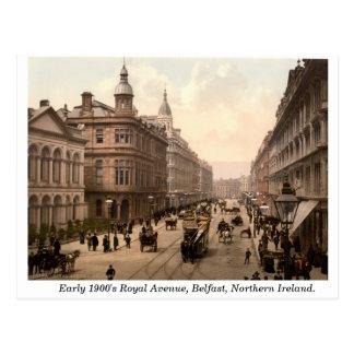 Carte Postale Avenue royale, Belfast, Irlande du Nord