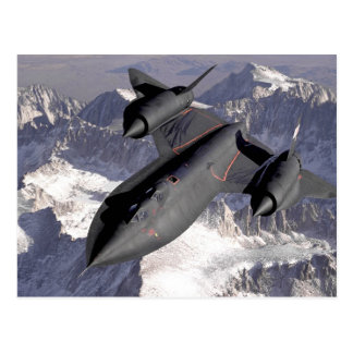 Carte Postale Avion de chasse supersonique