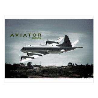 Carte Postale Avion de l'aviateur P3 Orion