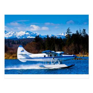 Carte Postale Avion de mer d'île de Vancouver