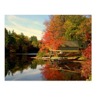 Carte Postale Avion de mer du New Hampshire