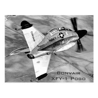 Carte Postale Avions ADAV de Convair XFY-1 Pogo