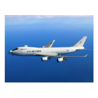 Carte Postale Avions aéroportés de laser de YAL-1A en vol