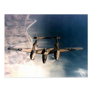 Carte Postale Avions historiques de temps de guerre de 2ÈME