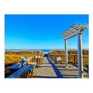Carte Postale Avoine sable et surf de mer ! Sc de Hilton Head