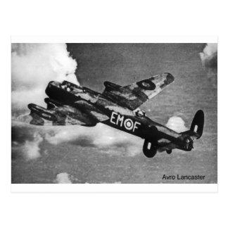 Carte Postale Avro-Lancaster