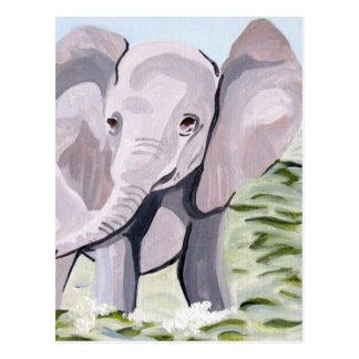 Carte Postale Ayant une palette (art acrylique de Kimberly