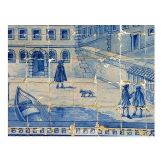 Carte Postale Azulejo