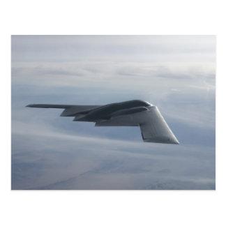 Carte Postale B-2 esprit - bombardier de discrétion