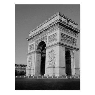 Carte Postale B&W Arc de Triomphe 3