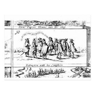 Carte Postale Babington et ses complices