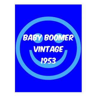 Carte Postale baby boomer 1953
