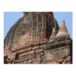 Carte Postale Bagan, Myanmar