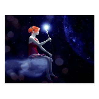 Carte Postale Baguette magique d'Elf