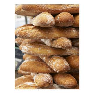 Carte Postale Baguettes fraîches d'artisan