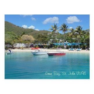Carte Postale Baie de Cruz, St John USVI