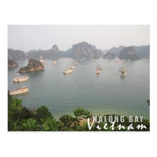 Carte Postale Baie de Halong, Vietnam