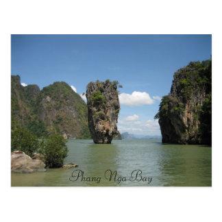Carte Postale Baie de Phang Nga