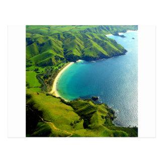 Carte Postale Baie de Taupo, Nouvelle Zélande