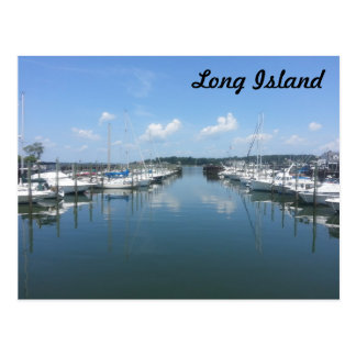 Carte Postale Baie d'huître, Long Island