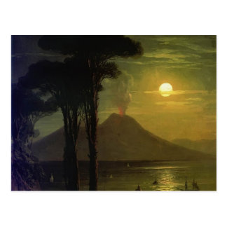 Carte Postale Baie d'Ivan Aivazovsky-The de Naples la nuit
