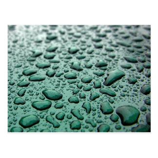 Carte Postale Baisses de pluie